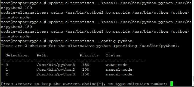 python切换默认版本
